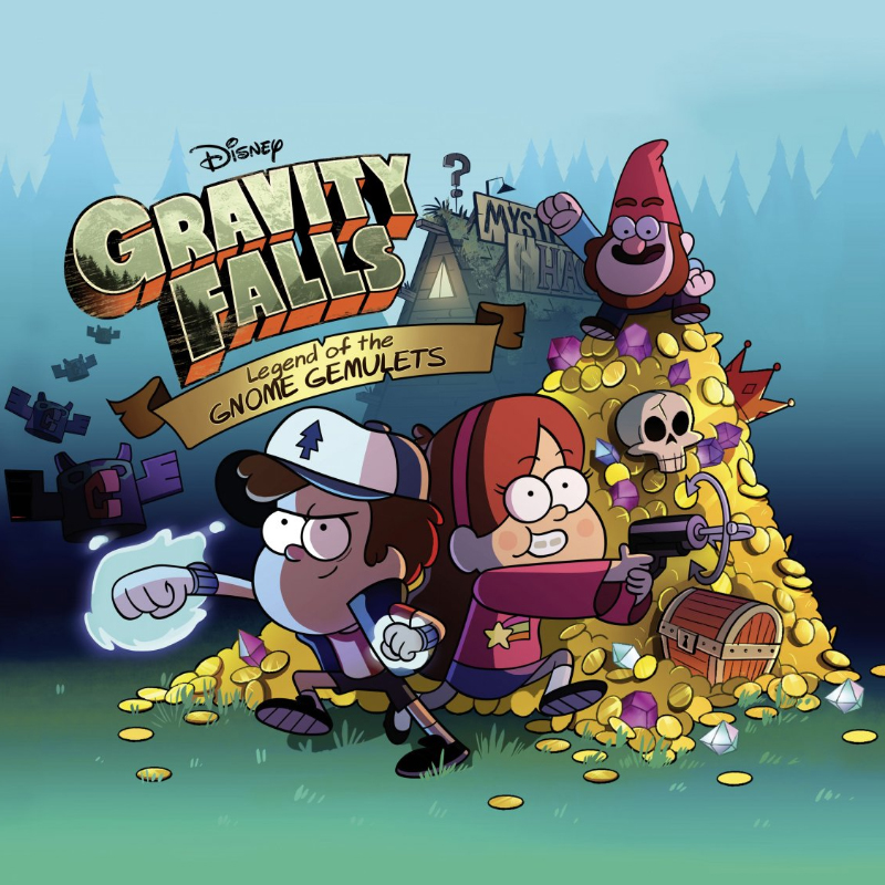 Disney's Gravity Falls (2015, 3DS)