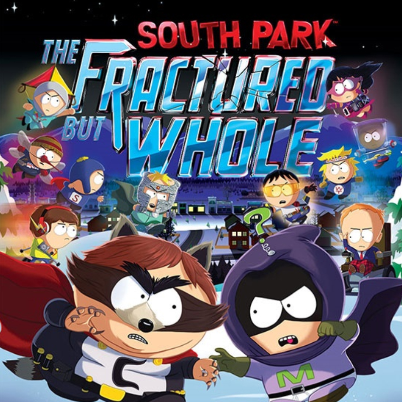 South Park: The Fractured But Whole (2017, PC, Xbox One and PS4)