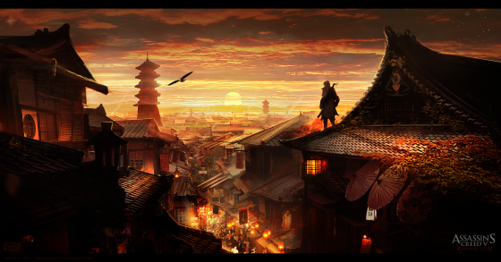 6 Hours - Kyoto city: assassin's creed based work. Self set project to build my portfolio, the process can be found in the WIP section of my site.