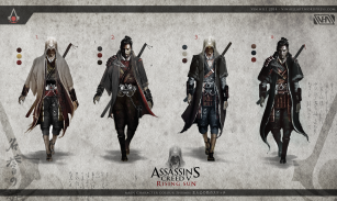 Assassin Thumbnail sketches