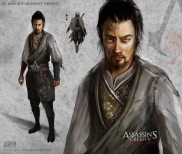 Non Armor variant of the Assassin